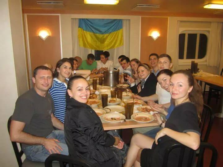 День независимости Украины на круизном лайнере 2